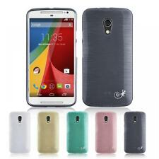 Silicone Pearly Gel Back Cover Case for Motorola Moto G 2 2014 (2nd Gen)