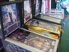 1:12 Scale Model Pinball Machine Hand Made in UK Signed  (myref136A)