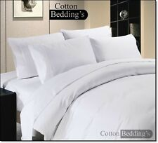 800 1000 1200 TC 100% Egyptian Cotton All US Size Hotel Super White in Striped