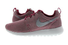 Women Nike Roshe Run Dark Fireberry/White-Wolf Grey 511882-611