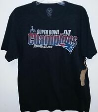 New England Patriots  licensed Superbowl Champions  Men's T-shirt 47 Brand NEW