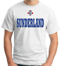 T-shirt maglietta tees WC0691 SUNDERLAND ENGLAND CITY COUNTRY