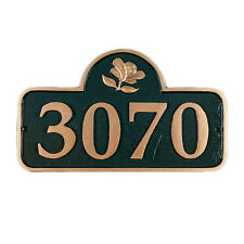 SPRINGFIED Address Plaque Lawn Marker House Sign Numbers wall Custom Made order