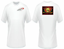 Baja Boats Red and Black Skull T-Shirt
