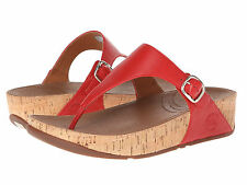 FitFlop Women's 383209 The Skinny Flip Flop Sandals [ Red ]