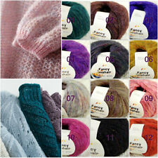SALE 1 Ball X 50g Special Thick Worsted 100% Cotton HAND DYED Knitting Yarn G