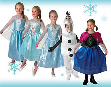 Licensed Disney Princess Rubies Frozen Olaf Anna Elsa Kids Boys Girls Costumes
