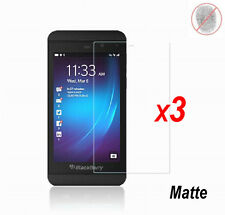 3x Anti-Glare Matte/ Clear LCD Screen Protector Guard Film for BlackBerry Z10