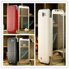 New Glass Screen Battery BACK Case Cover for Samsung Galaxy Note ll 2 N7100