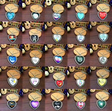 "New I LOVE YOU TO THE MOON AND BACK"" Alloy heart Necklaces Pendants Chain U pick"