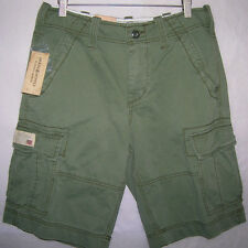 new Ralph Lauren Denim & Supply cargo shorts military army olive NWT MSRP $59.50