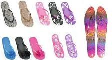 Ladies Flip Flops Sandals Sizes 3/4 5/6 7/8 NEW 1 pair FREE POST