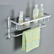 Fashion Single Layer Bathroom Kitchen Shelf Towel Rack hanger Space Aluminum