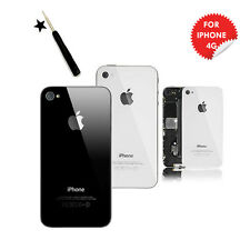 Replacement Rear Battery Back Cover Case for Apple iPhone 4 4S New Genuine Glass