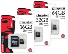 Kingston 8GB 16GB 32GB 64GB Class 10 microSD SDHC SDXC TF Flash Memory Card  Lot