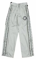 Zipway NBA Basketball Youth Miami Heat Checkered Tear-Away Track Pants, Grey