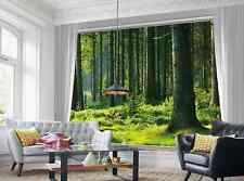 3D  Fairy Forest Green Wall Print Decal Wall Deco Indoor wall Mural Home