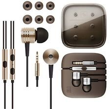 3.5mm Metal Piston Stereo In Ear Earphone Earbud Headset W/Mic For Moblie Phones