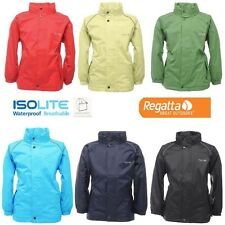 Regatta Womens Fuselage II Lightweight Waterproof Packaway Rain Coat Jacket