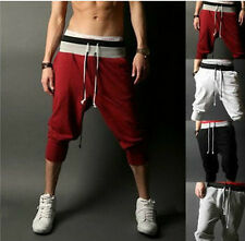 Fashion Mens Casual Sport Rope Shorts Baggy Pants Jogging Trousers 4 Colors
