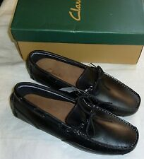 Clarks Men's Circuit Pic Slip-On Loafer - Black New!