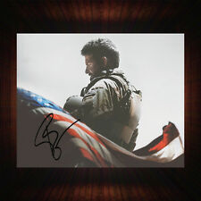 Bradley Cooper American Sniper - PP Signed Autographed Framed Photo/Canvas Print