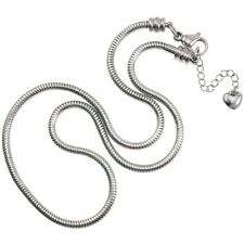 Timeline Treasures European Style Stainless Steel Master Starter Charm Necklace