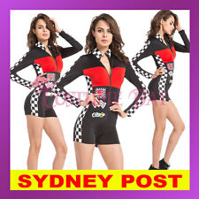 Sexy Miss Indy Super Car Racer Racing Sport Driver Grid Girl Prix Fancy Costume