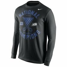 Duke Blue Devils MENS 2015 National Champions Long Sleeve Shirt Locker Room Nike