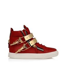 2015 100% authentic leather GZ double gold patch mens womens shoes sneakers