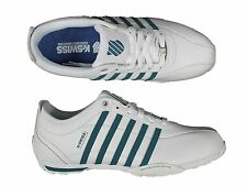 MENS TRAINERS K.SWISS ARVEE1.5 02453-160-M LACE UP LEATHER TRAINERS 6-12
