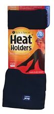 Heat Holders Ladies Thick Thermal Brushed Warm Tights Navy Blue