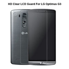 2x 4x Lot New Front LCD Clear Screen Protector Film Guard For LG Optimus G3