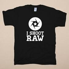 I shoot raw photographie photo photographe caméra photography photo JPEG t-shirt s-xxl