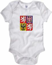 Body Neonato Militare BABY_TM0083 Czech republic national emblem citta
