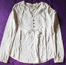Lucky Brand Embroidered Blouse 7WD6399 White S M NWT