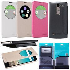 New Nillkin PU Leather Side Flip Case Quick Window Cover For LG Spirit 4G H440y