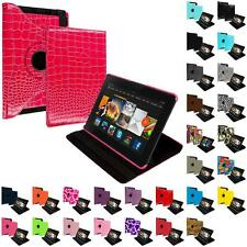 360 Rotating Design Folio Case Cover Pouch for Amazon Kindle Fire HDX 7 7.0 2013