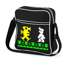 Manic Miner Retro Flight Bag Classic Arcade Games 70's 80's