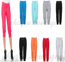 WOMEN'S 3/4 LENGTH CAPRI LOT PANTS JOGGING WORKOUT EXERCISE PLUS SIZE TROUSERS