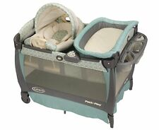 Graco Pack'nPlay Playard Cuddle Cove Rocking Seat Bassinet Baby Changing Table