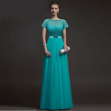Women Long Chiffon Bridesmaid Formal Evening Gown Cocktail Party Prom Ball Dress