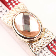 1/5 Sets Gold Plated Gem Inlay Magnetic Clasps Charms Jewelry Makings 34x18x14mm