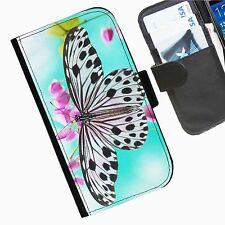 Butterfly Leather wallet personalised phone case for Blackberry Q10 Z3 Z3O Z10