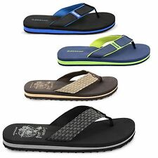 MENS DUNLOP URBAN BEACH SUMMER SANDALS OLDER BOYS CASUAL FLIP FLOPS MULES SHOES