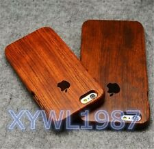 Cool Creative Real Wood Wooden phone Case Back Cover for iPhone 5/5s/6/6 Plus