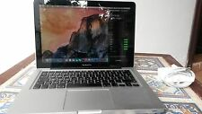 "MacBook Pro 13"" core i5 2.3GHz 8GB 320GB HD Graphic 3000 512MB SD DL wifi 450mbs"