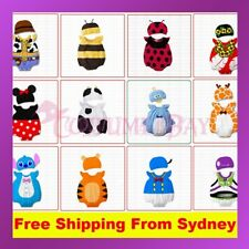 New Baby Boys Girls Animal Onsie Costume Bodysuit Outfit Romper Clothes Set Hat