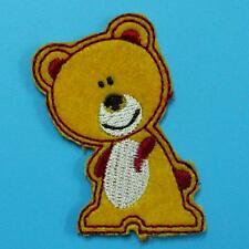 Teddy Bear Animal Iron on Sew Patch Cute Applique Badge Embroidered Baby Cute
