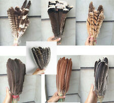 10-200pcs Beautiful Eagle hair Wedding 15-40cm / 6-16inches all kinds of options